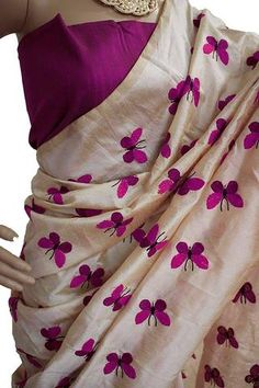 Pink Color Cotton Silk Saree - SRP-Patang Flying Pink #sarees #sari #look #looking #popular #offers #design #collection #offers #new #trendy #design #fashion #zinngafashion #nice #design