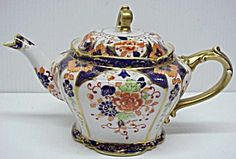 OLD HAND PAINTED NIPPON  TEAPOT