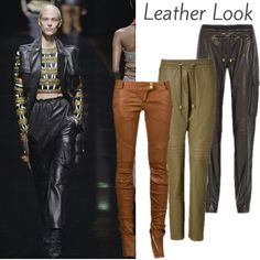 Herbst 2014: Leather Look