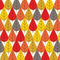 Octoberama - Fall CANVAS : Official Charley Harper Art Studio, Prints, Posters, Direct