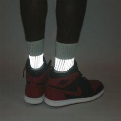 GEAR-017 BAND socks w/3M reflective - HEISEL  - 1