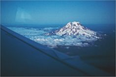 Mt. Ranier from above