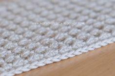 Virkad disktrasa - Crocheted dishcloth - Handmade in Finland