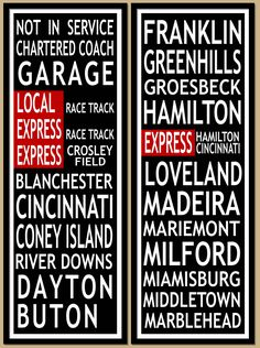 Vintage New York Subway Signs - Los Angeles AtlantaSt. Perfect for an eclectic or industrial chic type space. Cincinnati Subway, Man Cave Must Haves, Marine City, Subway Art, Subway Signs, Wanted Movie, Chic Type, New York Subway, What Women Want