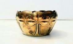 Your place to buy and sell all things handmade Wmf, Art Nouveau, Bowl, Antique Art, Office Decor, Vintage Items, Brass, Etsy, This Or That Questions