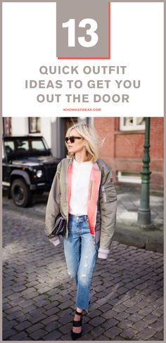 Easy outfit ideas you can throw together in seconds