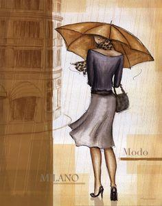 andrea laliberte - London Art Poster Print by Andrea Laliberte  <3 <3