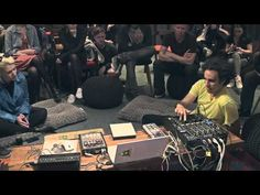 Building a Live EDM Set. Four Tet explains his technique. Very cool, even if you're not into electronic music. #recording #musicians