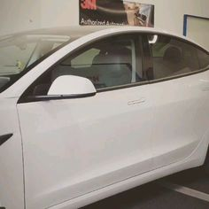 Chrome trims covered with black matte vinyl Tesla Video, Dream Cars, Grande, Toyota, Chrome, Ford, Window, Good Things, Dreams