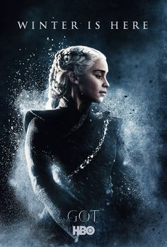 Game of Thrones Season 7 character keyart Daenerys Targaryen Art, Emilia Clarke Daenerys Targaryen, Game Of Throne Daenerys, Khaleesi, Deanerys Targaryen, Game Of Thrones S7, Game Of Thrones Poster, Game Of Thrones Dragons, Winter Is Here