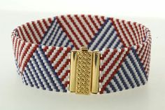 The Beadsmith Red White and Blue