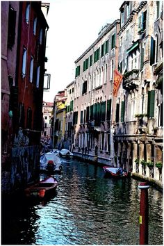 Venice landscape , Italy and colors.