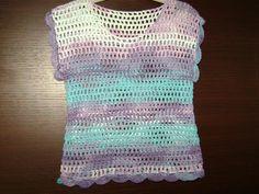 Crochet summer top multicoloredFashion by RiaCrochetCreations, €29.90