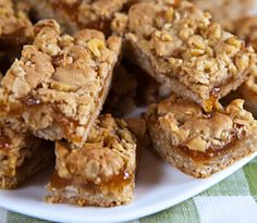 One Perfect Bite: Apricot Oatmeal Bars