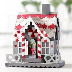 Tim Holtz Gingerbread House Die with Shari Carroll | Simon Says Stamp Blog! | Bloglovin'