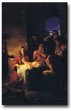 Nativity by Carl Heinrich Bloch
