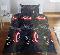 Funda nórdica Los Vengadores (The Avengers), Capitán America