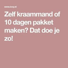 Zelf kraammand of 10 dagen pakket maken? Dat doe je zo! Baby Sprinkle, Baby Gifts, Birth, Diy And Crafts, Baby Shower, Tips, How To Make, Baby Things, Gift Basket