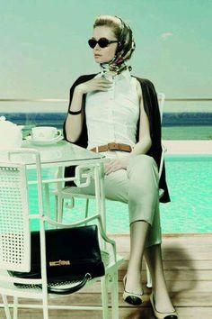 Grace Kelly The American Princess photo shoot. - Graco - Ideas of Graco - Grace Kelly The American Princess photo shoot. Grace Kelly Mode, Grace Kelly Style, Grace Kelly Fashion, Moda Vintage, Vintage Mode, Vintage Style, 1950 Style, Princesa Grace Kelly, Stil Inspiration