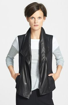 Vince Asymmetrical Vest available at #Nordstrom