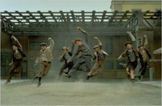 """Day 23: Favorite Dance Scene, """"Ain't it a fine life carryin' the banner through it all?"""""""