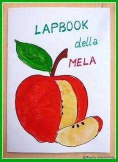 """Oggi è arrivato un regalo inaspettato...   La mia amica Anna mi ha mandato   un meraviglioso cesto di mele .   Un tempo, Anna era """"ma..."""