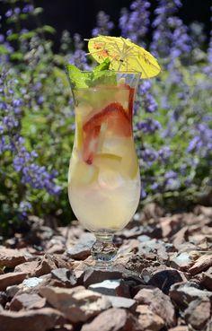 strawberry lemonade sangria