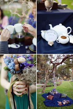Tea Party Bridal Shower Inspiration | Style Me Pretty
