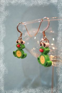 paper quilled earrings - Google Search