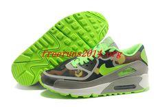 best authentic 822b7 1d930 Nike Women s Air Max 90 Premium Tape Linen Flash Lime Moon Grey Cargo Khaki  599911 230