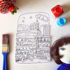 Alexandra Balashova. Illustrator.