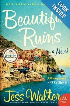 The Best Beach Reads: Transport yourself to the Mediterranean with Beautiful Ruins by Jess Walter, a romantic read that tosses between Italy in the and modern-day Hollywood. Summer Reading Lists, Beach Reading, Summer Books, Reading Room, Fall Books, Reading Club, This Is A Book, Love Book, Book 1