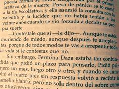 Contéstale que si... El amor en los tiempos del cólera. Gabriel García Marquez