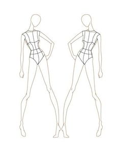 190 Best Fashion Croquis Images Fashion Design Template Fashion Sketches Croquis