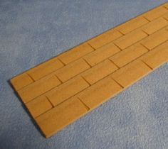MDF Roof Tile Sheet - 1:12 scale