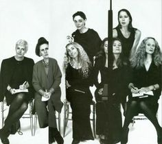 Richard Avedon : Liz Tilberis, Suzy Menkes, Franca Sozzani, Joan Juliet Buck, Amy Spindler, Marina Schiano, Grace Coddington.