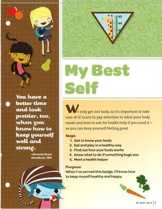 My Best Self: Cover Brownie Quest Skill Building Badge - Girl Scout Swap, Girl Scout Leader, Girl Scout Troop, Girl Scout Brownie Badges, Brownie Girl Scouts, Brownie Quest Journey, Girl Scout Levels, Girl Scout Activities, Family Activities