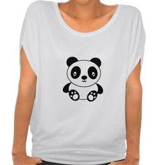 Cute Panda T-shirts