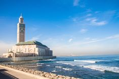 Wallpaper Casablanca, Morocco, Hassan 2 Mosque Visit Morocco, Morocco Travel, Casablanca Hotel, Marrakech, Resorts, Morocco Itinerary, Sites Touristiques, Desert Tour, French Colonial