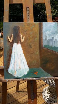 "Titulo: ""Passagem p o novo mundo"" By Celya Jacobi"
