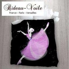 fille housse de couette tissu imprim ballerine danseuse toile gris blanc housse de couette. Black Bedroom Furniture Sets. Home Design Ideas