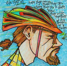 Art by my favorite artist; my Dad- Robert P Fladmark!
