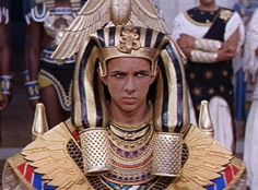 Pharaoh Ptolemy XIII, Cleopatra from Royal Spare Heirs in Movies ...