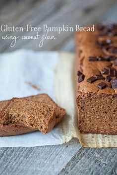 Pumpkin Bread (gluten and everything free…almost)