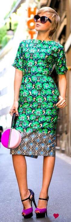 #print #dress #ankara #minimal