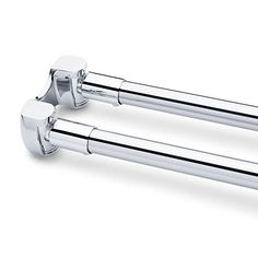 Naiture 60 Brass Straight Double Shower Curtain Rod Chrome Finish -- Find out more about the great product at the image link.