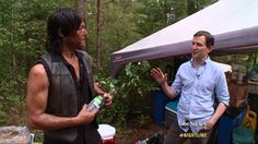 YouTube - Nightline 'The Walking Dead' Surreal Zombie World Behind the Scenes