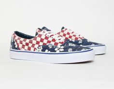 72dfce80a3  Vans Era Van Doren Aloha Checker. Men s Swag