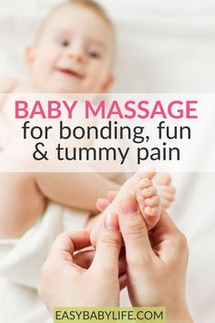 9 Helpful Baby Massage Tips – For Bonding, Fun & Tummy Pain – Newborn Baby Massage Baby Massage, Massage Tips, Parenting Advice, Kids And Parenting, Natural Parenting, Baby Care Tips, Baby Tips, Baby Hacks, Get Baby