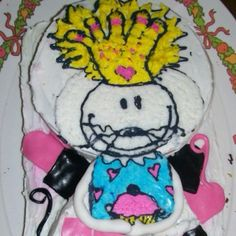 BabyMouse! Cake  Yes, it's Matt and Jennifer Holm's creation as a tasty confection- too cute to eat (but we did)!